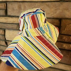 Longaberger Homestead Sun Hat Multi Color    A3